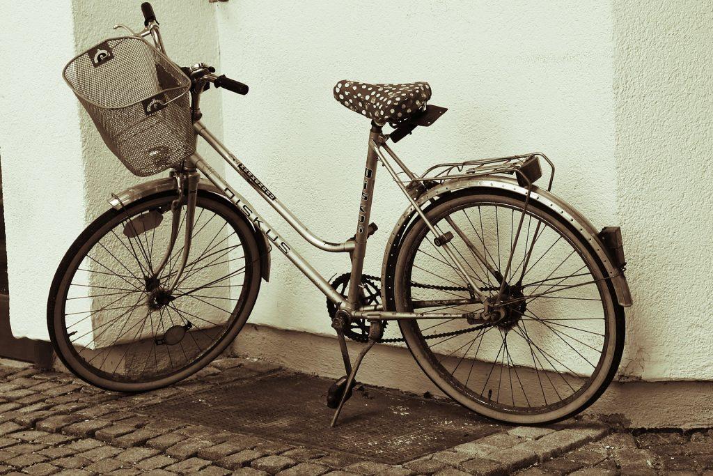 women-bike