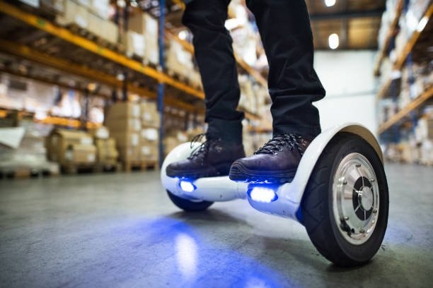 lighted hoverboard