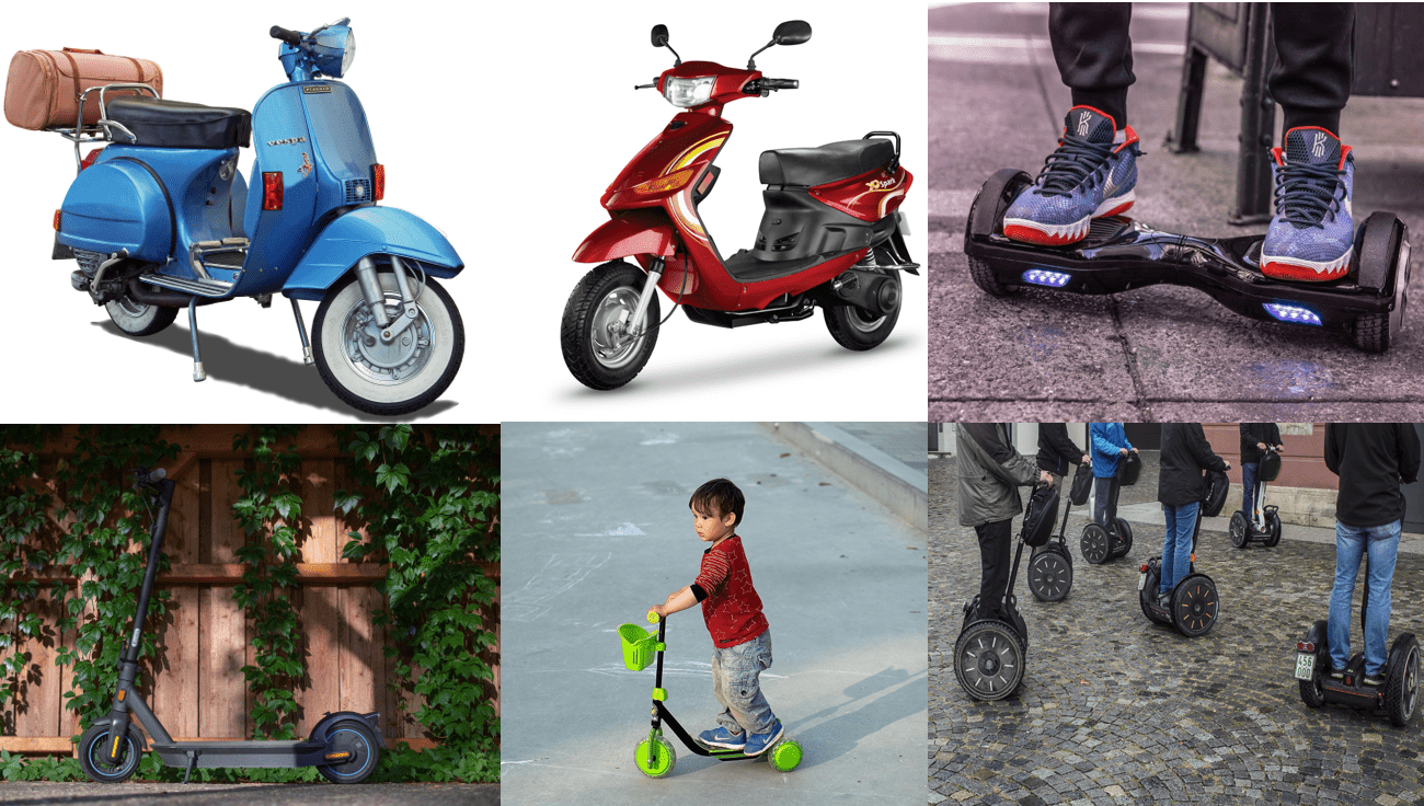 types of scooters